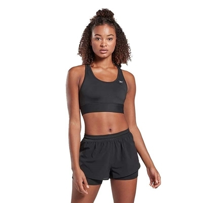 Reebok Runnıng Essentials High Impact Bra Sporcu Sütyeni Siyah