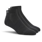 Reebok Sport Essentials Kısa Çorap 3'lü Paket Siyah
