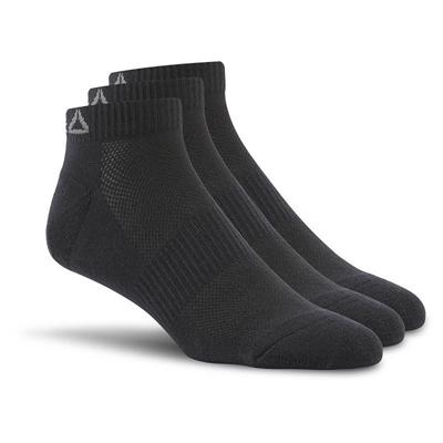 Reebok Sport Essentials Kısa Çorap 3'lü Paket - Siyah