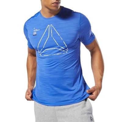 Reebok Training Activchill Graphic T-Shirt Mavi