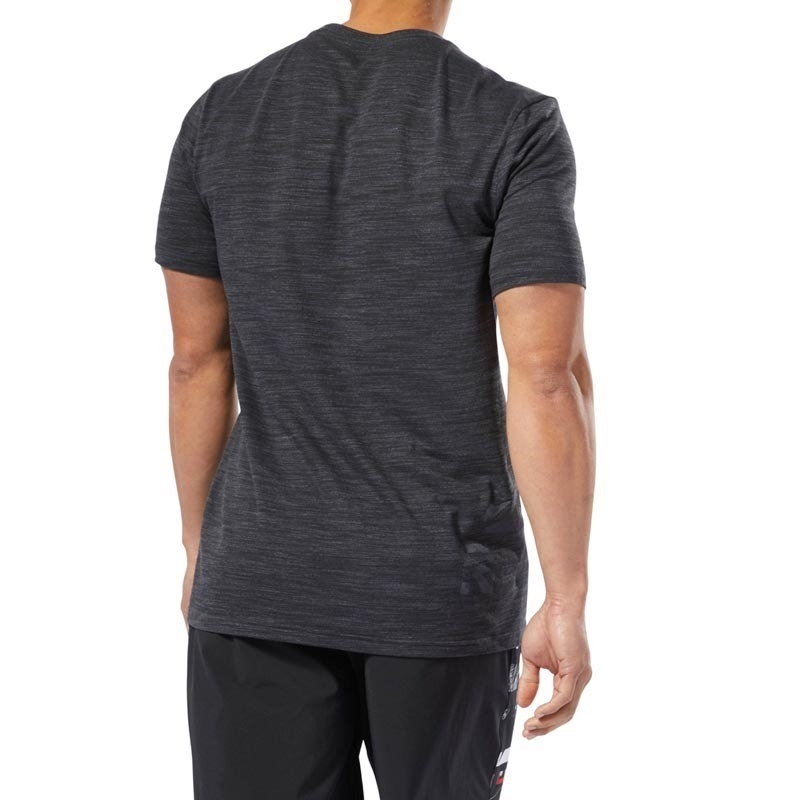 Reebok Training Essentials Marble Group T-Shirt - Siyah