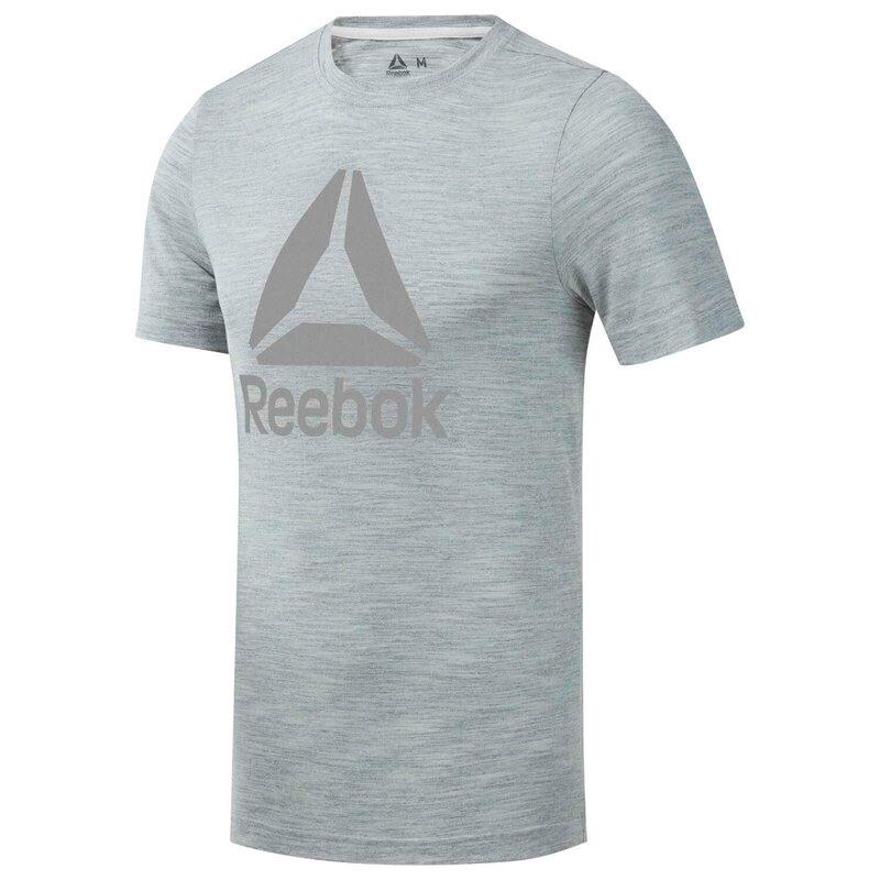 Reebok Training Essentials Marble Melange T-Shirt - Gri