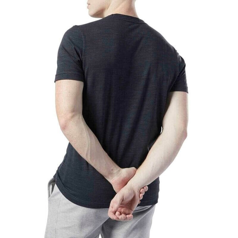 Reebok Training Essentials Marble Melange T-Shirt - Siyah