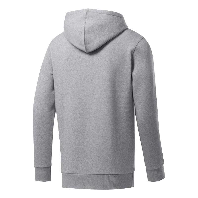 Reebok Ufc Fan Gear Hoodie Kapüşonlu Sweatshirt Gri