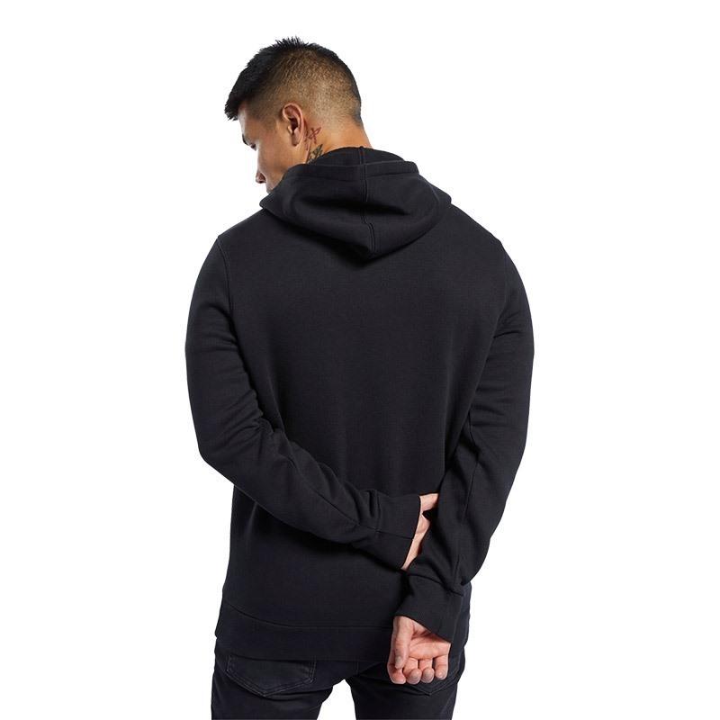 Reebok Ufc Fan Gear Hoodie Kapüşonlu Sweatshirt Siyah