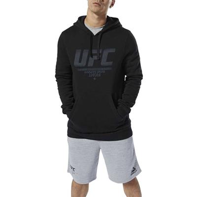 UFC Fan Gear Kapüşonlu Sweatshirt - Siyah