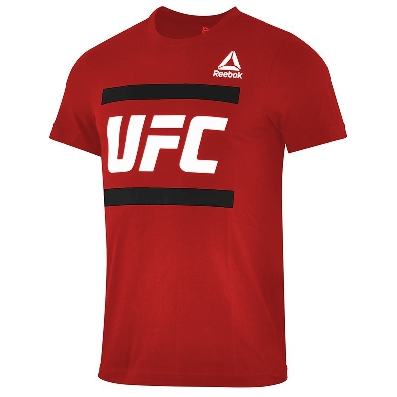 Reebok UFC FG Graphic T-Shirt Kırmızı
