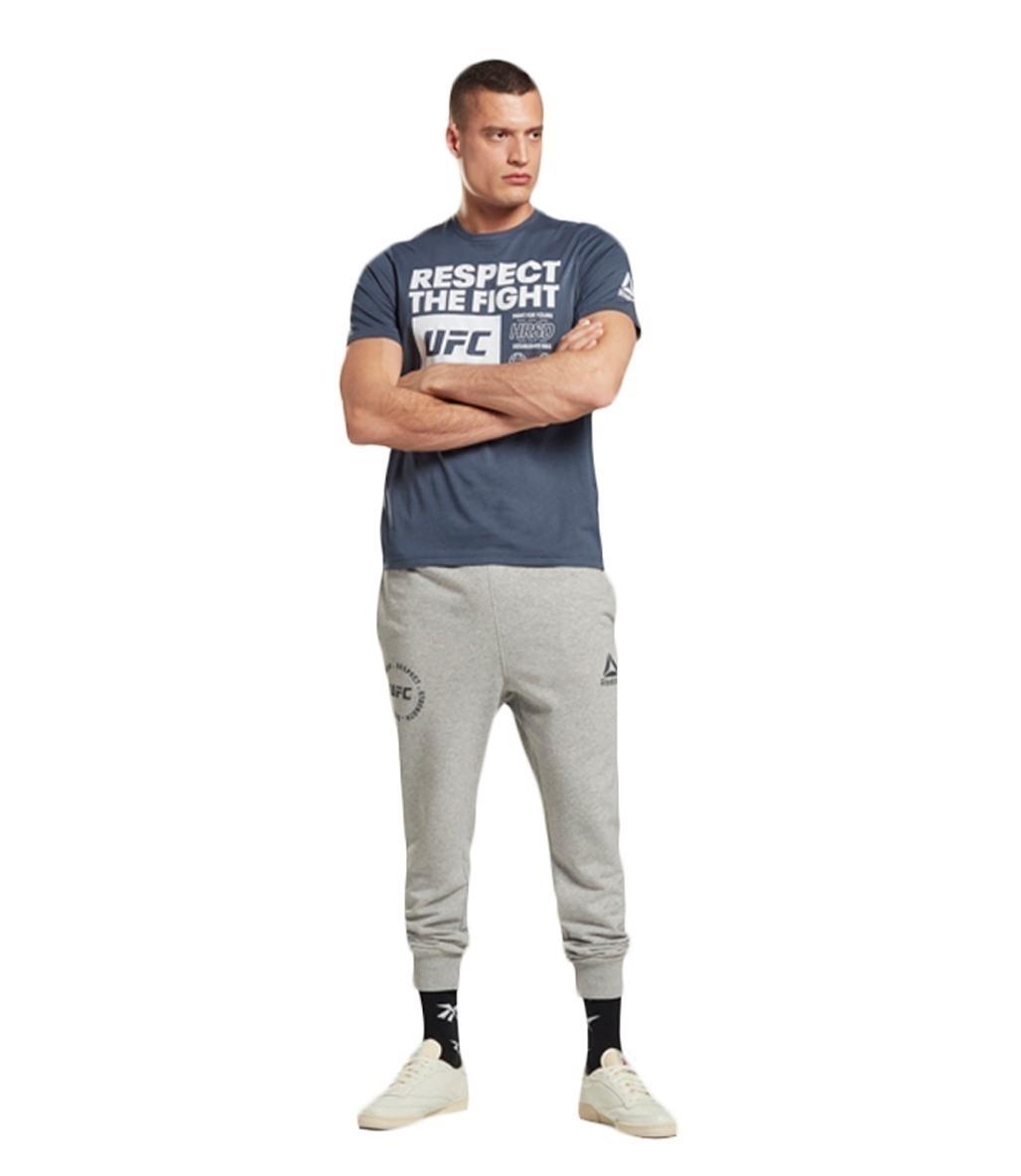 Reebok Ufc Fg Text Tee Smoind T-Shirt