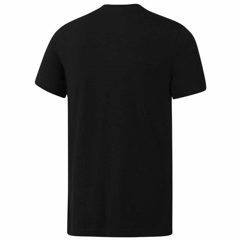 Reebok UFC Fight Gear Gym T-Shirt - Siyah