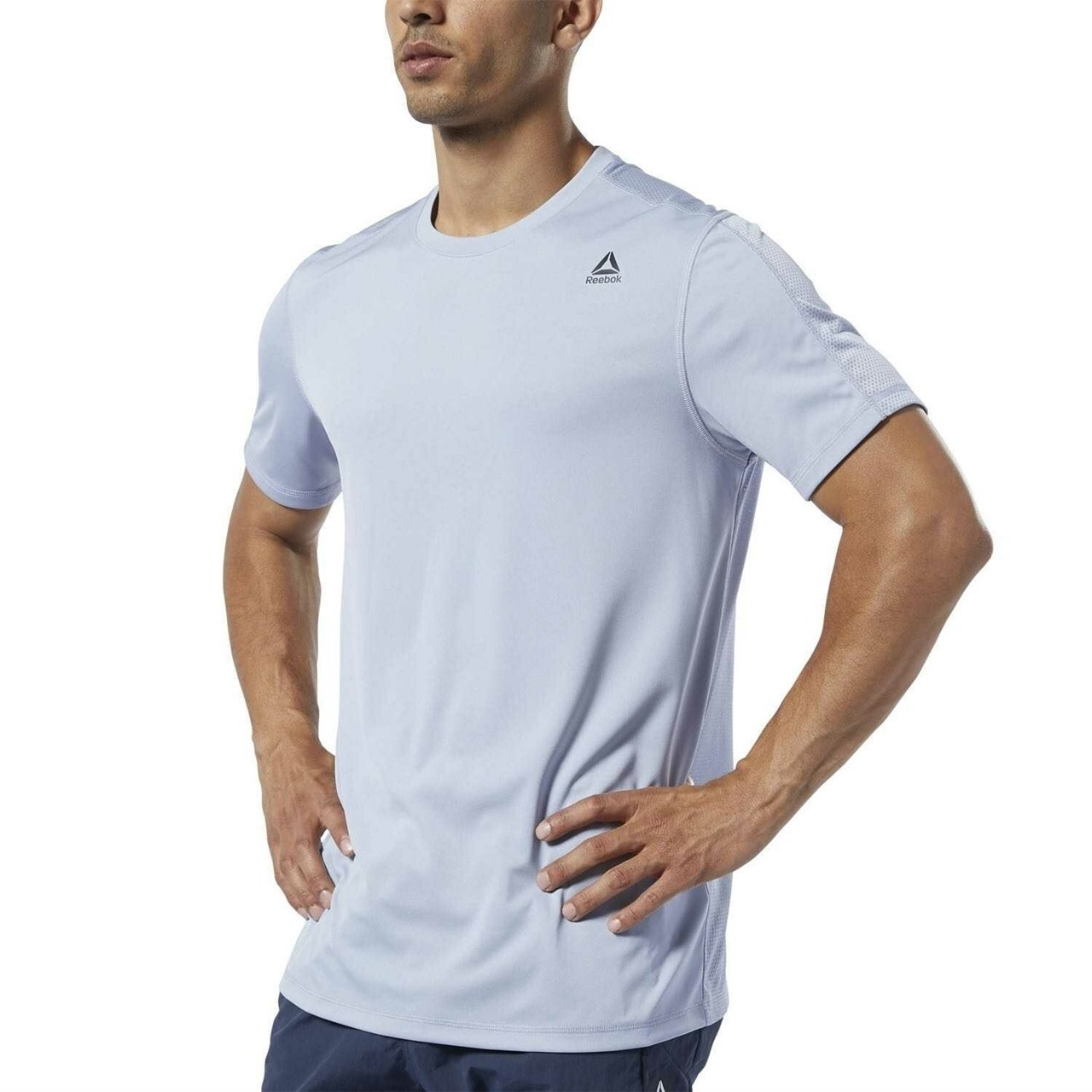 Reebok Wor Tech T-Shirt - Gri