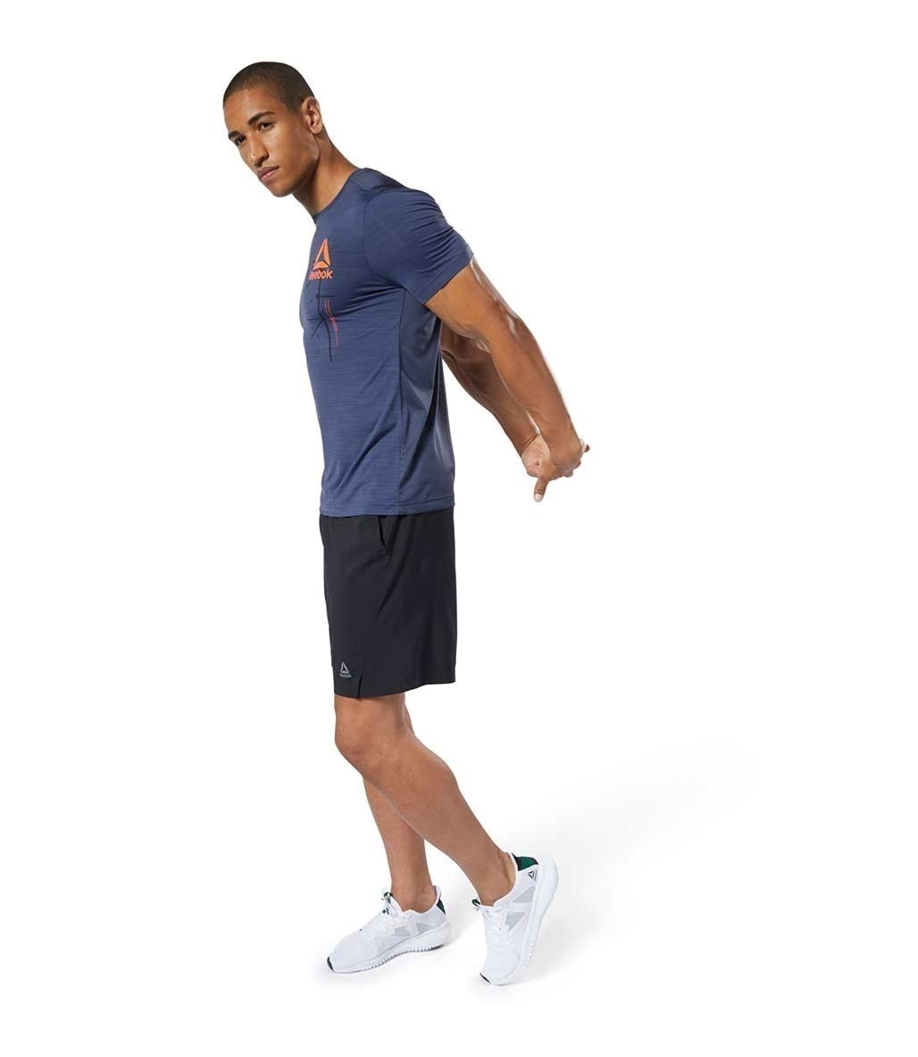 Reebok Workout Ready Activchill Graphic T-Shirt Lacivert