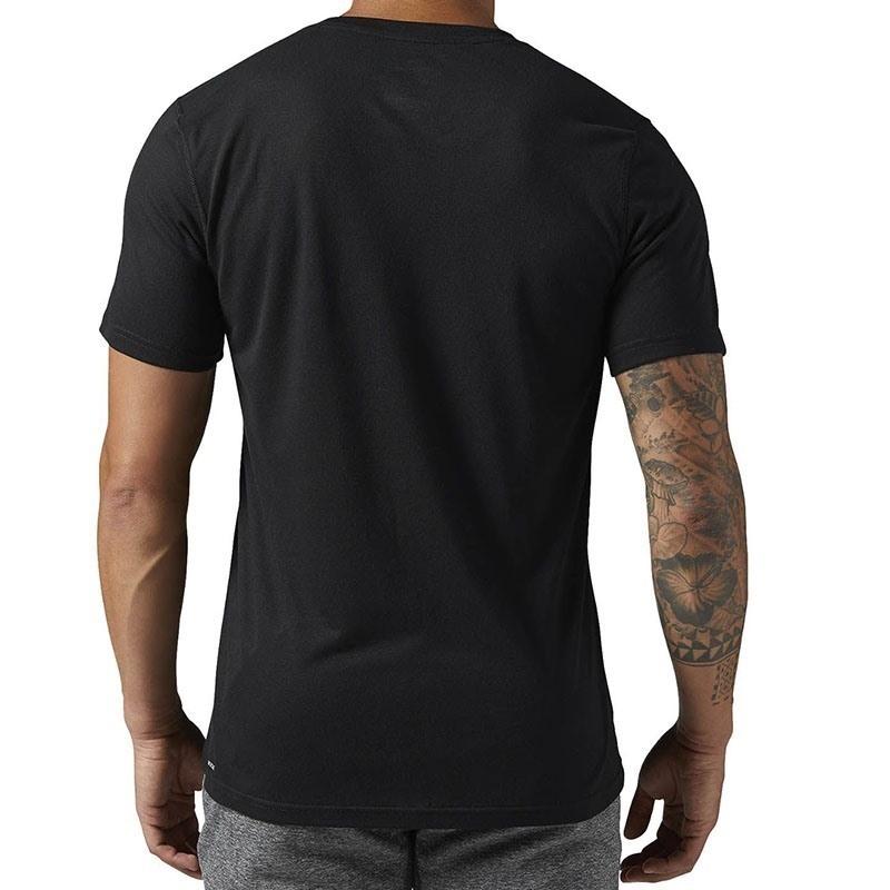 Reebok Workout Ready Supremium 2.0 T-Shirt - Siyah