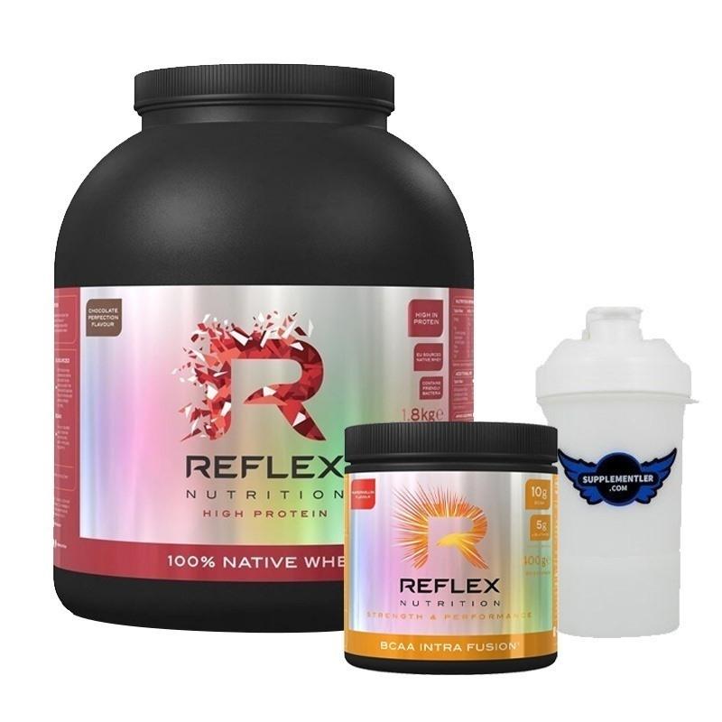 Reflex Native Whey Protein 1800 Gr + BCAA 400 Gr Kombinasyonu