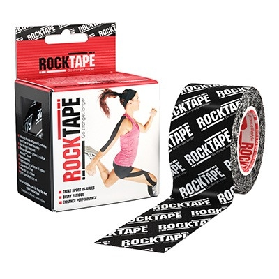 ROCKTAPE Black Logo 5 x 5