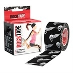 ROCKTAPE Black skull 5 x 5