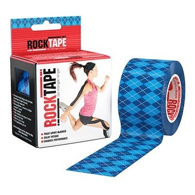 ROCKTAPE Blue Argyle 5 x 5