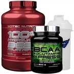 Scitec Beef Protein + BCAA Glutamine Xpress Kombinasyonu