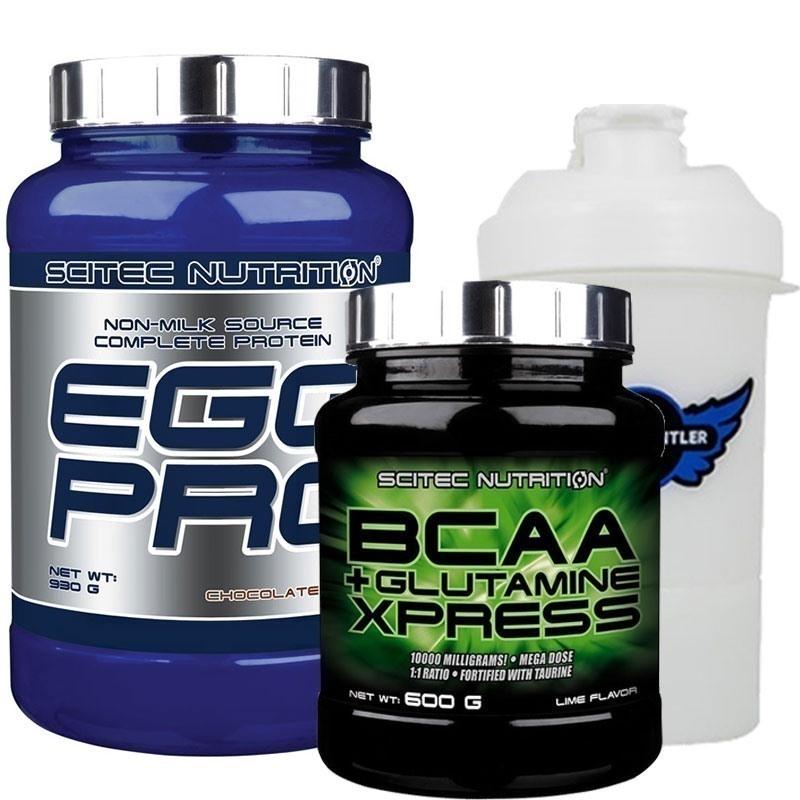 Scitec Egg Pro + BCAA Glutamin Xpress Kombinasyonu