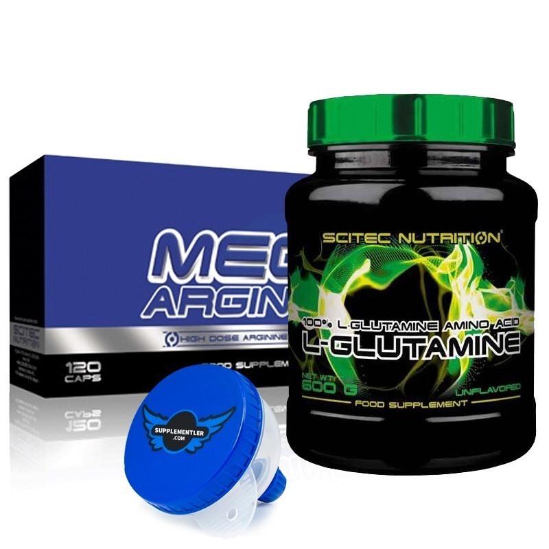 Scitec L-Glutamine + Mega Arginine Kombinasyonu
