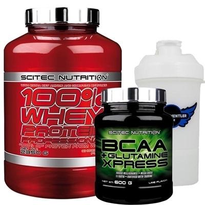 Scitec Whey Professional + BCAA Glutamine Xpress Kombinasyonu