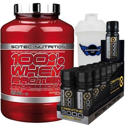 Scitec Whey Professional + L-Carnitine 3000 Kombinasyonu
