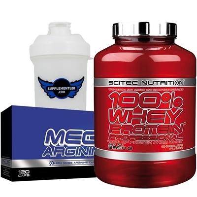 Scitec Whey Professional + Mega Arginine Kombinasyonu