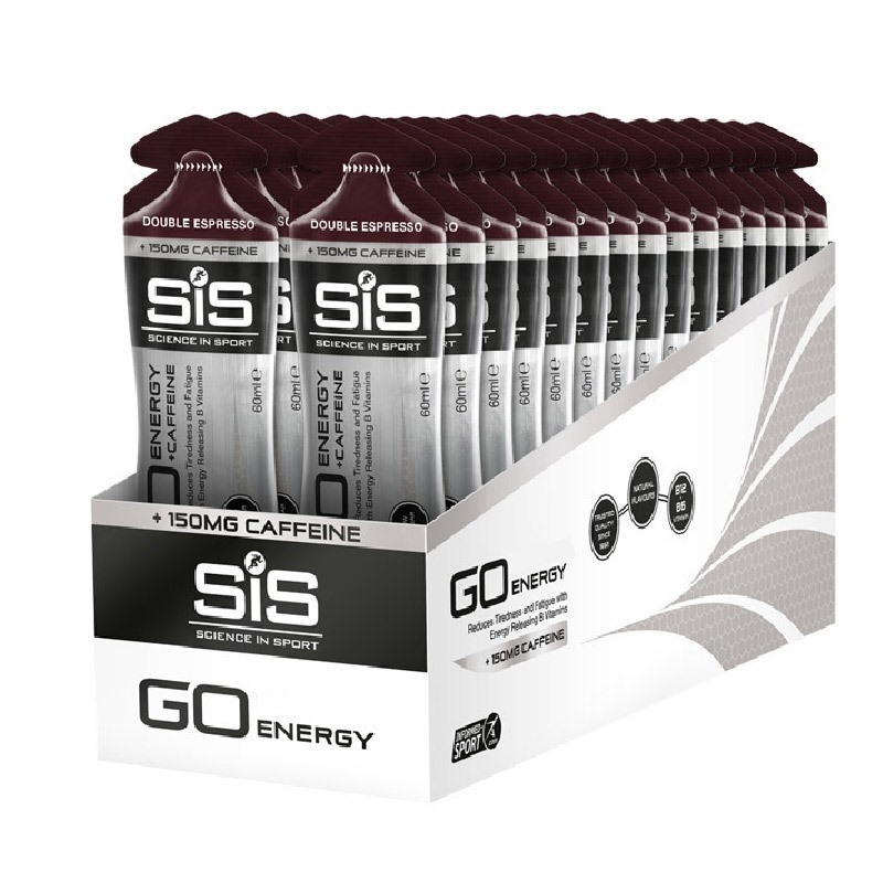 SiS GO Energy + Caffeine Gel 60 mL 30 Adet