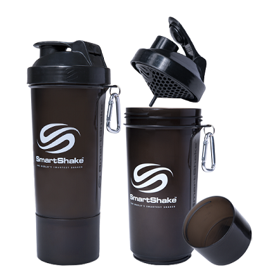 Smart Shake 500 ML Gunsmoke Black