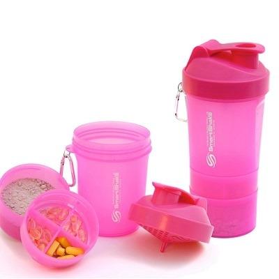 Smart Shake 600 ML All Pink Edition