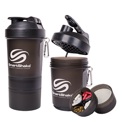 Smart Shake 600 ML Gunsmoke Black