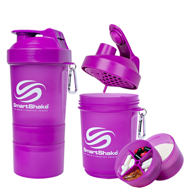 Smart Shake 600 ML Neon Purple