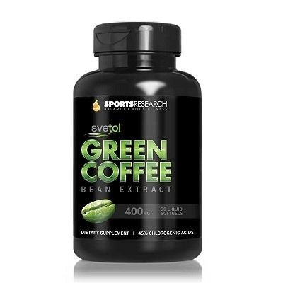 Sports Research Green Coffee Bean Extract 400Mg 60 Sıvı Kapsül