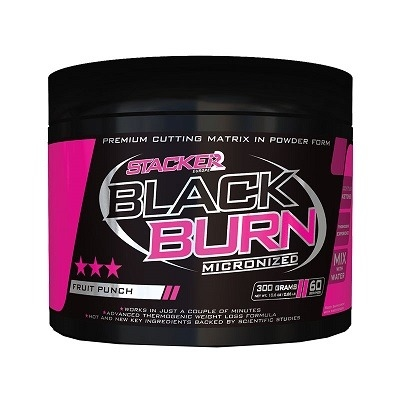 Stacker Europe Black Burn 300 Gr
