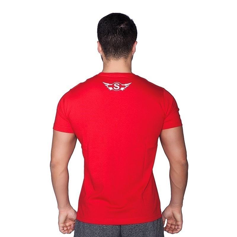 Supplementler.com Animal T-Shirt Kırmızı Beyaz
