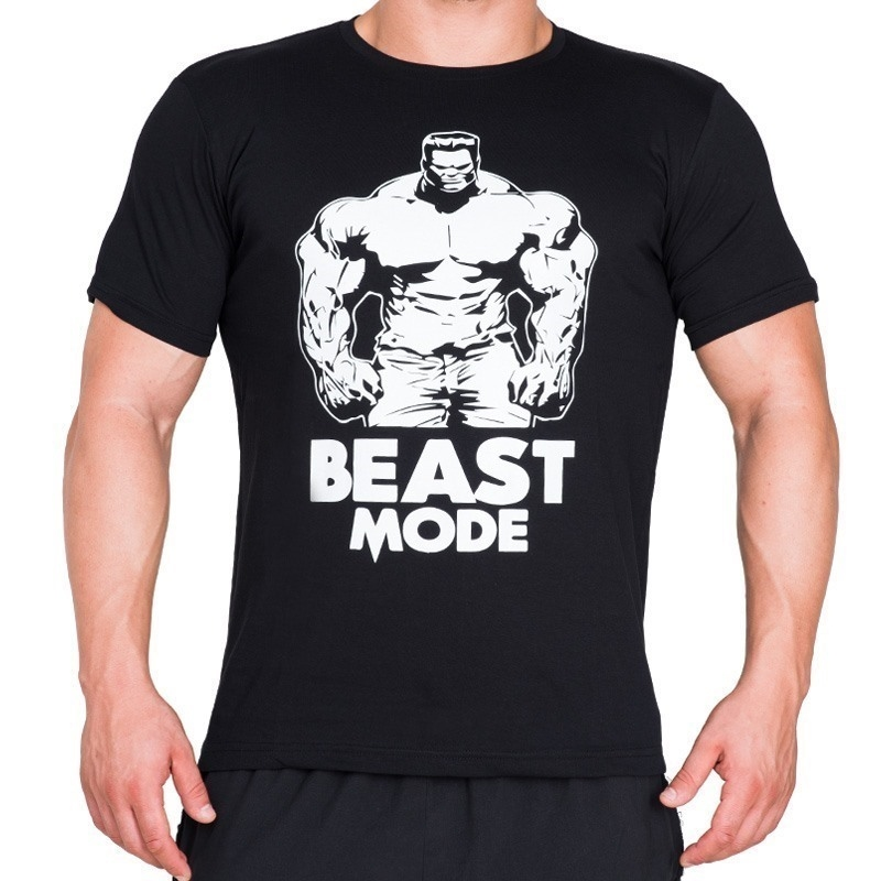 Supplementler.com Beast Mode HLK T-Shirt Siyah