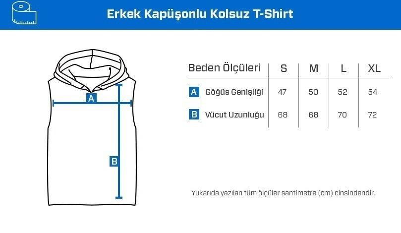 Supplementler.Com Beast Mode Kapüşonlu Kolsuz T-Shirt Siyah