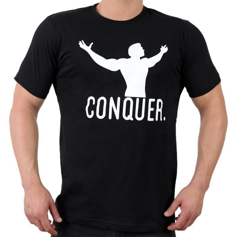 Supplementler.com Conquer T-Shirt Siyah