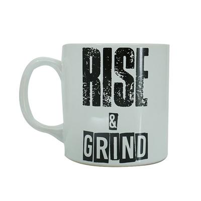 Supplementler Supplementler.Com Rise And Grind Kupa Beyaz