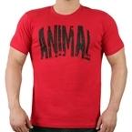 Supplementler.com Animal T-Shirt Kırmızı Siyah