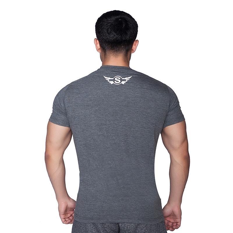 Supplementler.com Animal T-Shirt Koyu Gri
