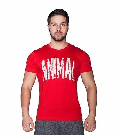 Supplementler Supplementler.com Animal T-Shirt Kırmızı Beyaz