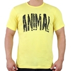 Supplementler.com Animal T-Shirt Sarı Siyah