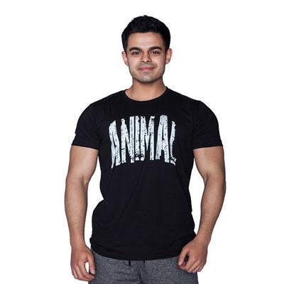 Supplementler.com Animal T-Shirt Siyah