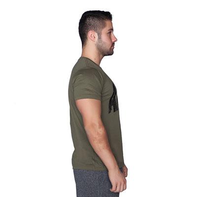 Supplementler.com Animal T-Shirt Yeşil Siyah
