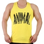 Supplementler.com Animal Tank Top Sarı Siyah