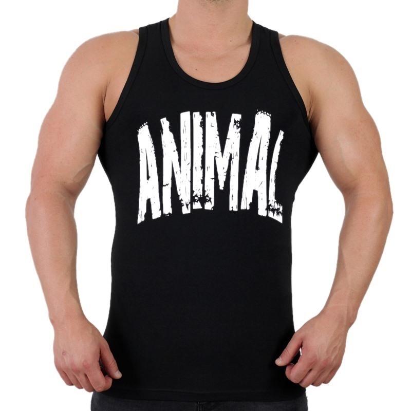 Supplementler.com Animal Tank Top Siyah