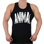 Supplementler.com Animal Tank Top Siyah
