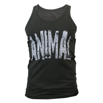 Supplementler.com Animal Tank Top Yeşil Gri