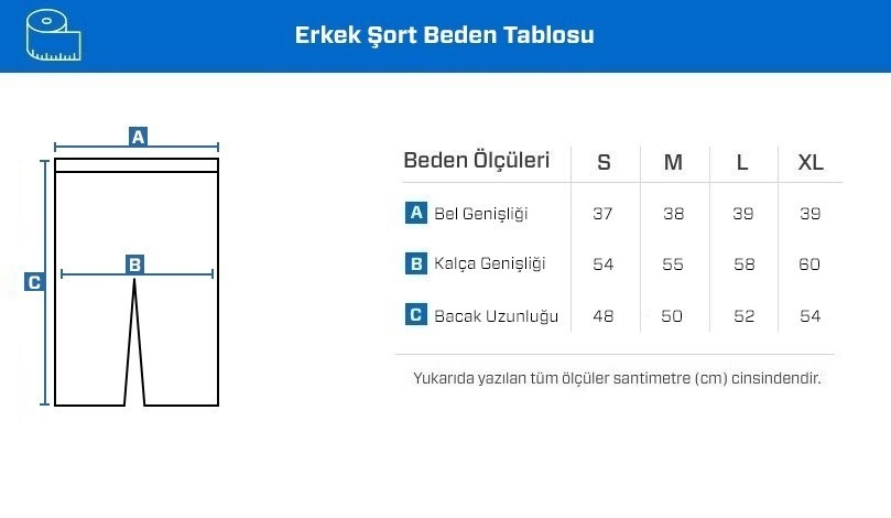 Supplementler.com Antrenman Şortu Lacivert