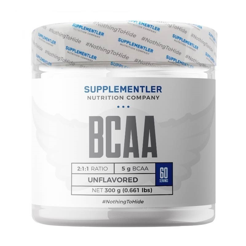 Supplementler.com BCAA 2:1:1 300 Gr Aromasız
